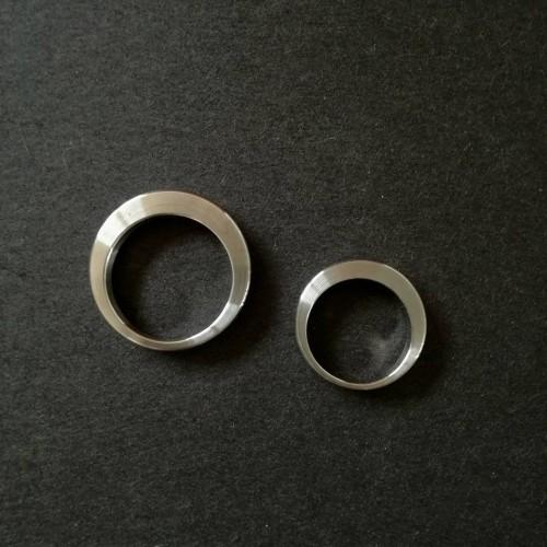 Plieninis žiedas B2B DECENTERED 2,5 mm